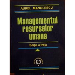 Managementul resurselor umane - editia a treia