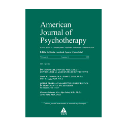 American Journal of Psychotherapy nr. 1/2008