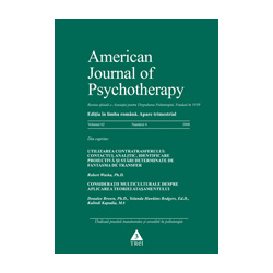 American Journal of Psychotherapy nr. 4/2008